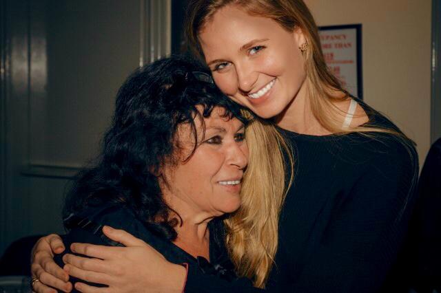 Mackenzie Reily with Sophia Grojsman