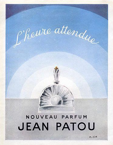 Jean Patou L'Heure Attendue vintage ad