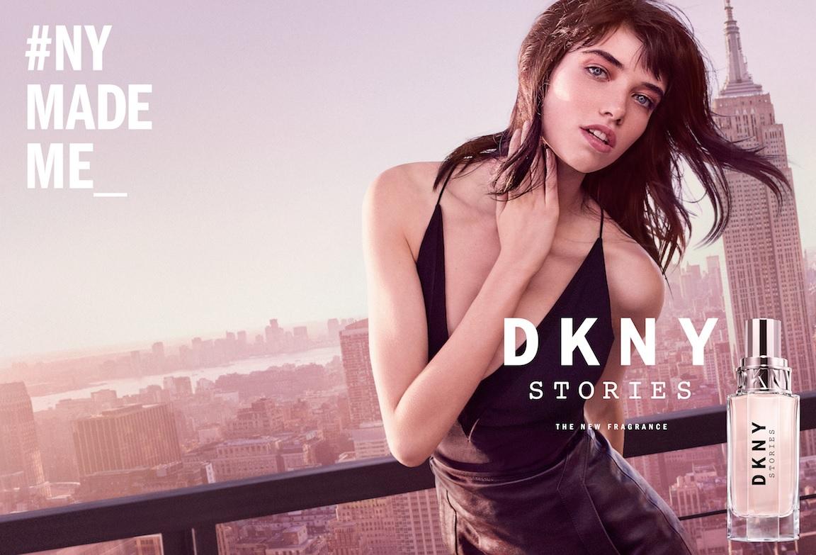 DKNY Stories ad