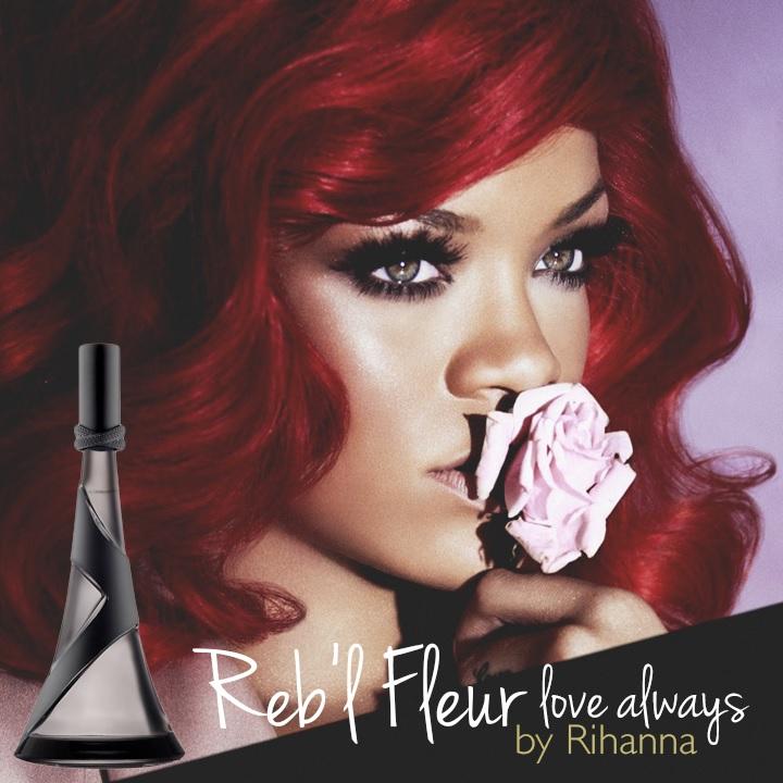 Rihanna Reb'l Fleur Love Always ad