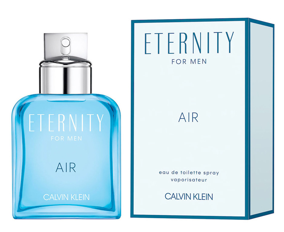 Eternity Air For Men bottle and box