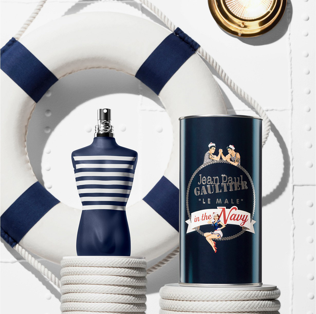Jean Paul Gaultier Le Male In The Navy ~ Nouveaux Parfums