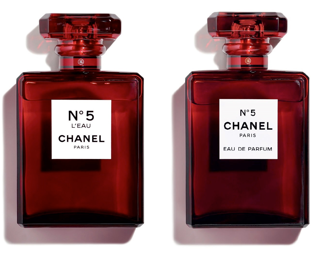 Chanel No 5 Red Editions новые ароматы