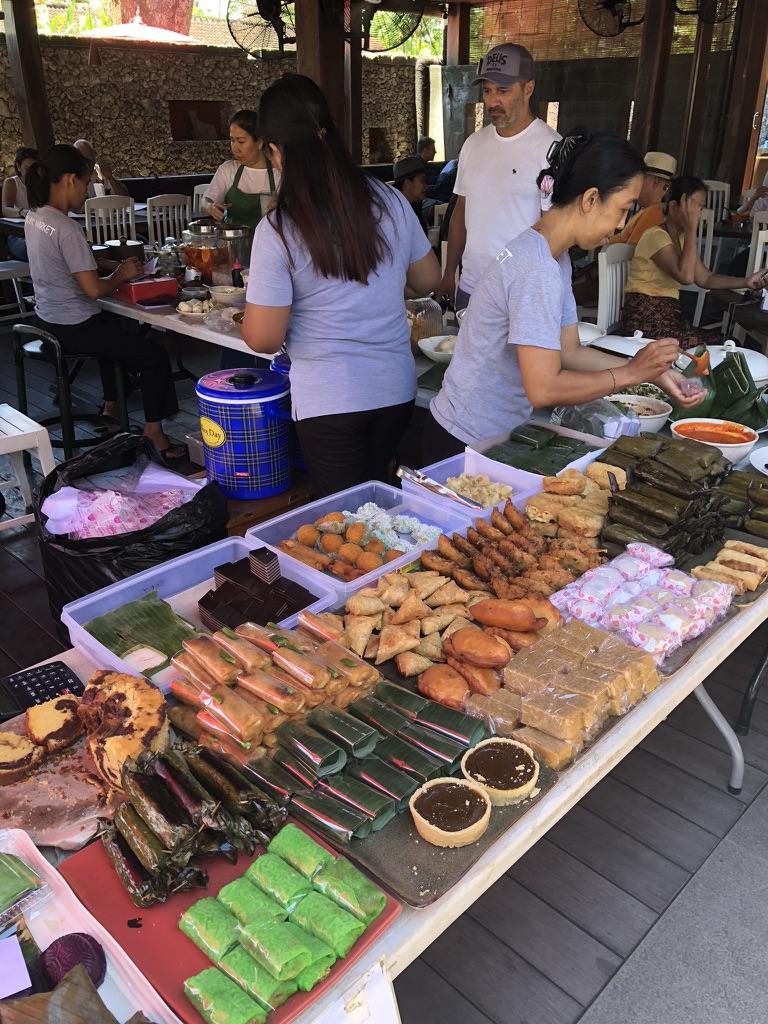 Fresh Balinese snacks
