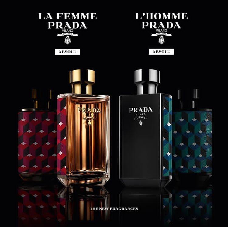 Prada La Femme Absolu Prada Lhomme Absolu новые ароматы