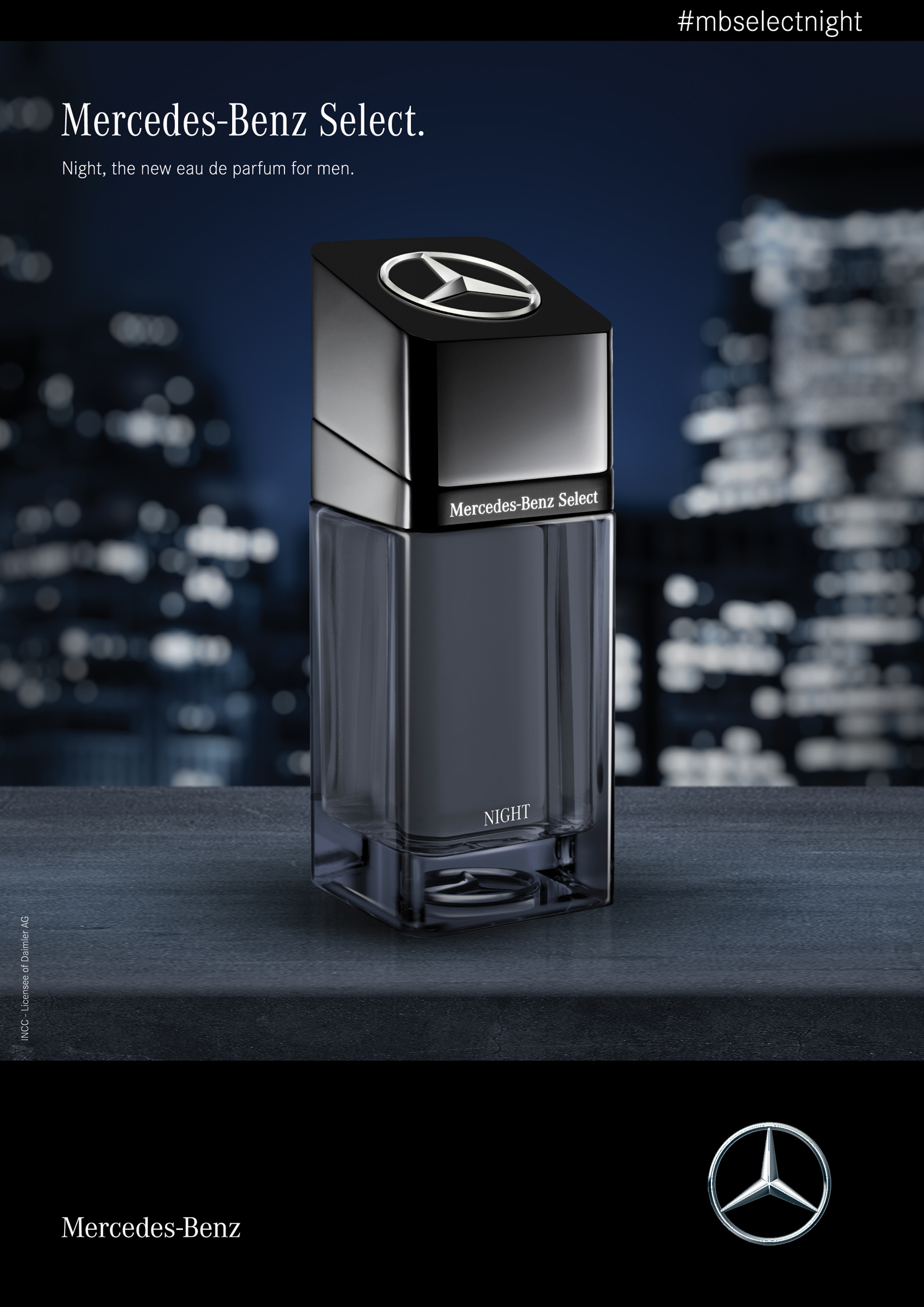 Tfwa 2018 Prepremiere Mercedes Benz Select Night New Fragrances Parfum Zara For Him Silver Collection Man