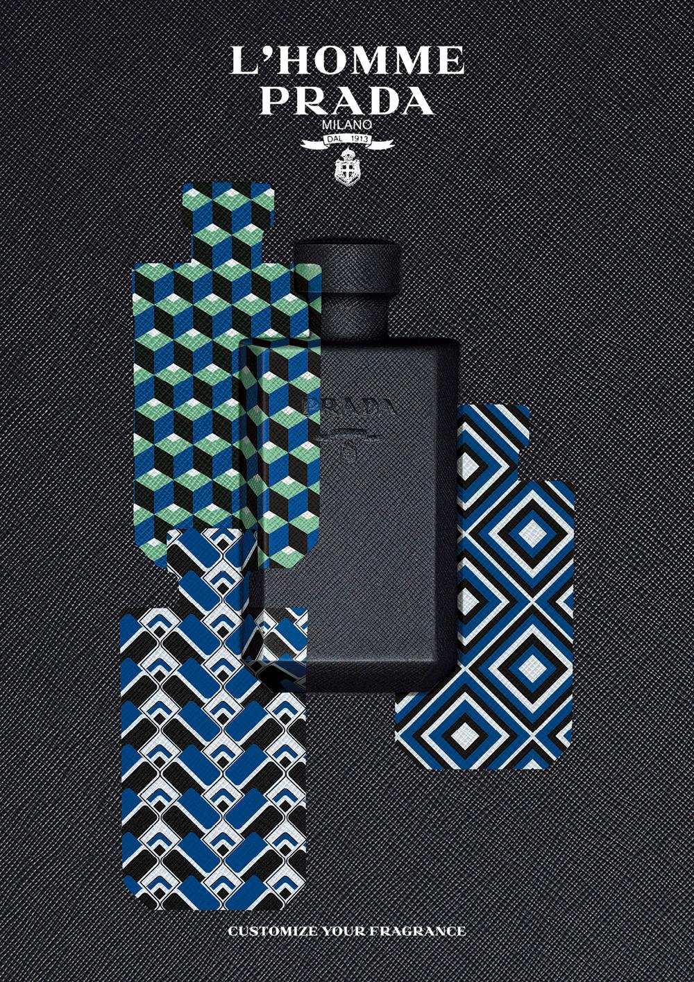 eabfdbf782c6 Atelier Prada: Customize the Look of Fragrances L'Homme Prada and La ...