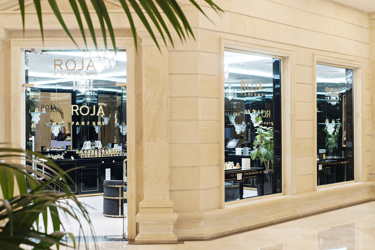 Roja Parfums in Crocus City Mall