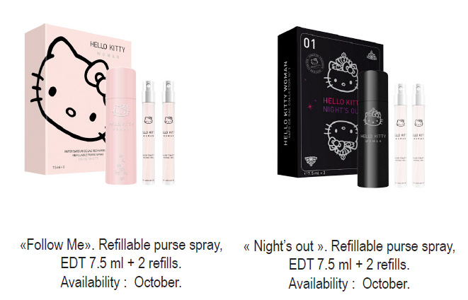 Hello Kitty Woman New Gift Sets And Purse Sprays For Girls New
