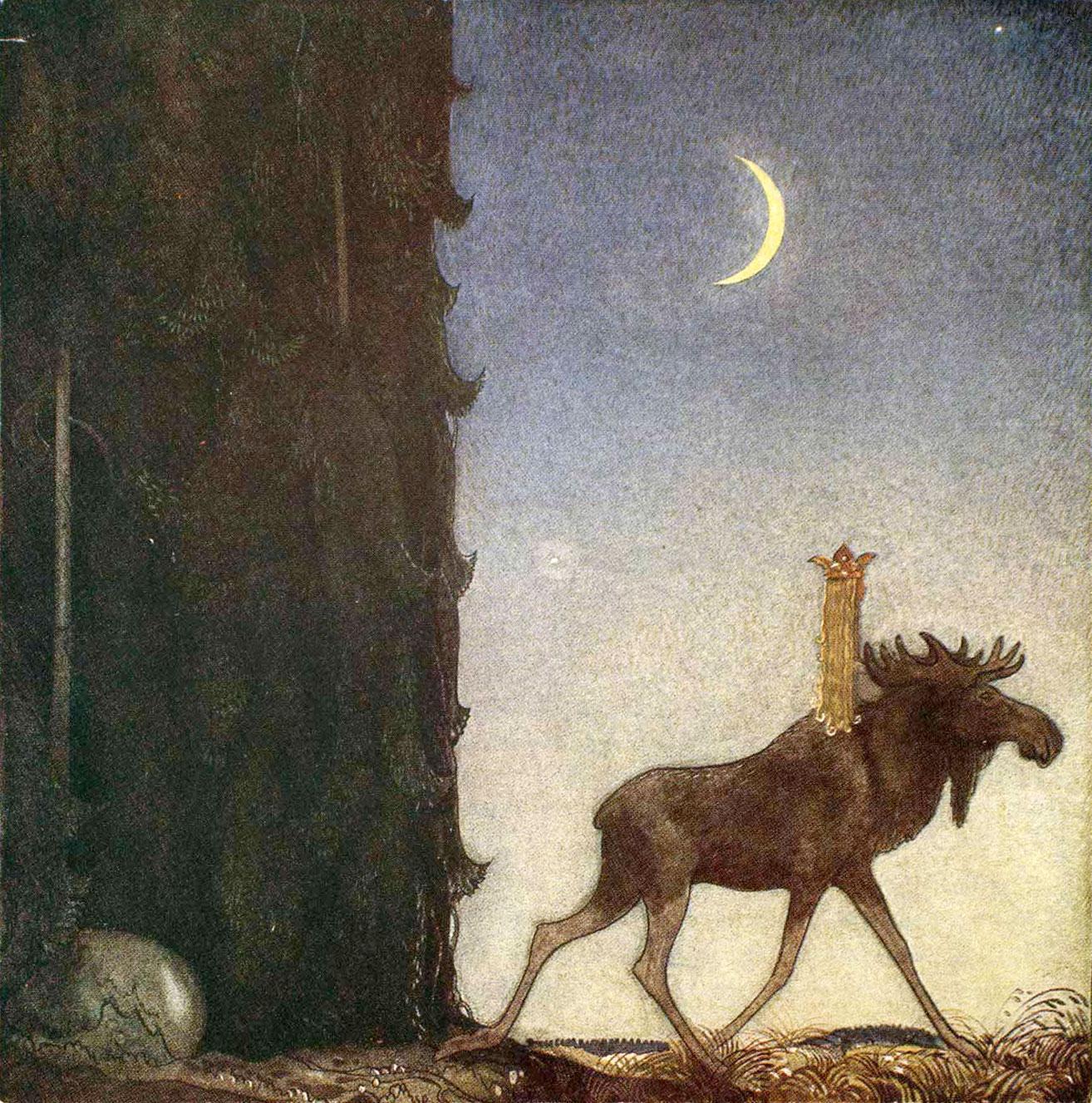 Illustrator John Albert Bauer (1882 – 1918)