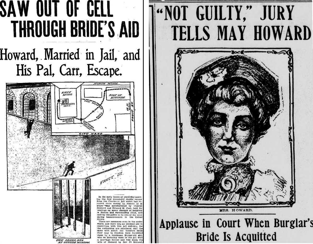 May ve Thomas Hakkındaki haberleri yapan ABD Gazeteleri Yıl 1906