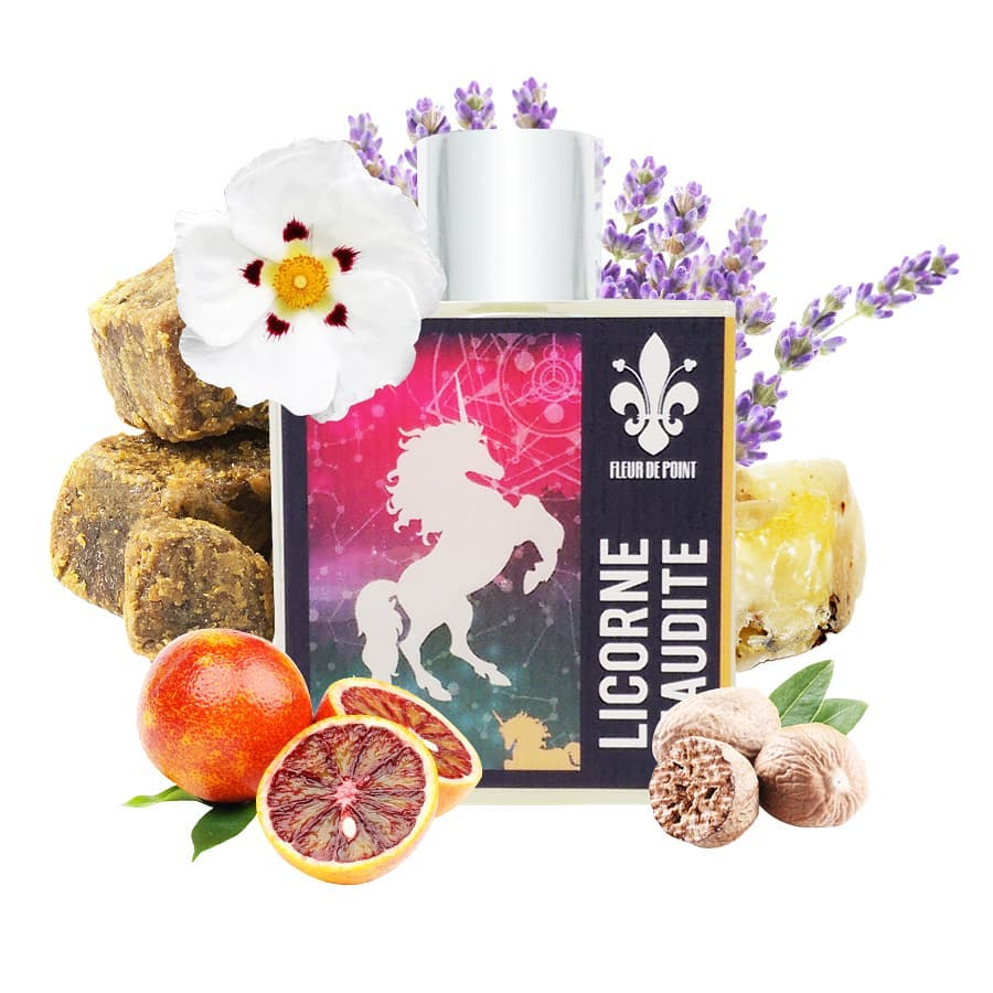 Licorne Maudite by Fleur de Point flacon and notes
