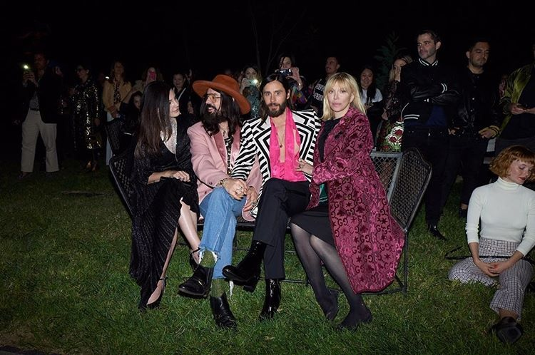 Lana Del Rey, Alessandro Michele, Courtney Loveand Jared Leto