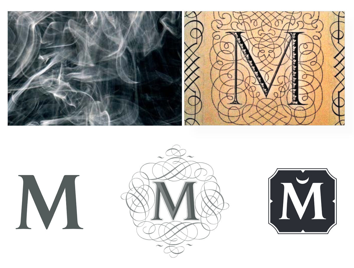 M letter branding for the House of Matriarch