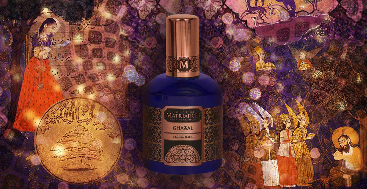Ghazal Perfume by House of Matriarch