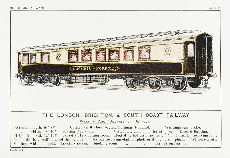 "Pullmann carriage ""Duchess of Norfolk"""