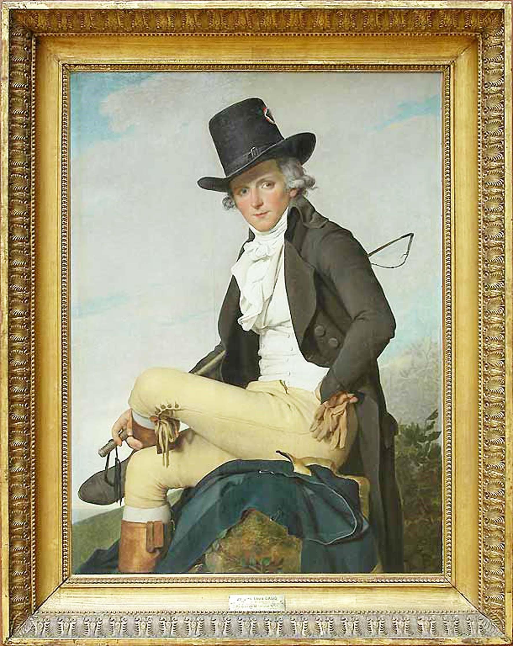 Portrait of Mr. Ceriziat, Jacques Louis David