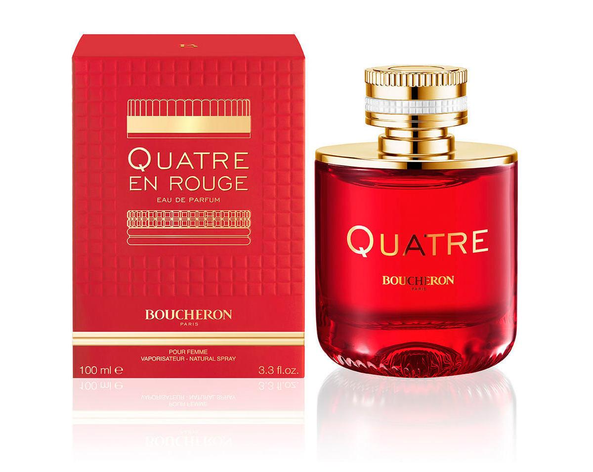 Boucheron Quatre En Rouge العطر الجديد باللون الأحمر إصدار جديد
