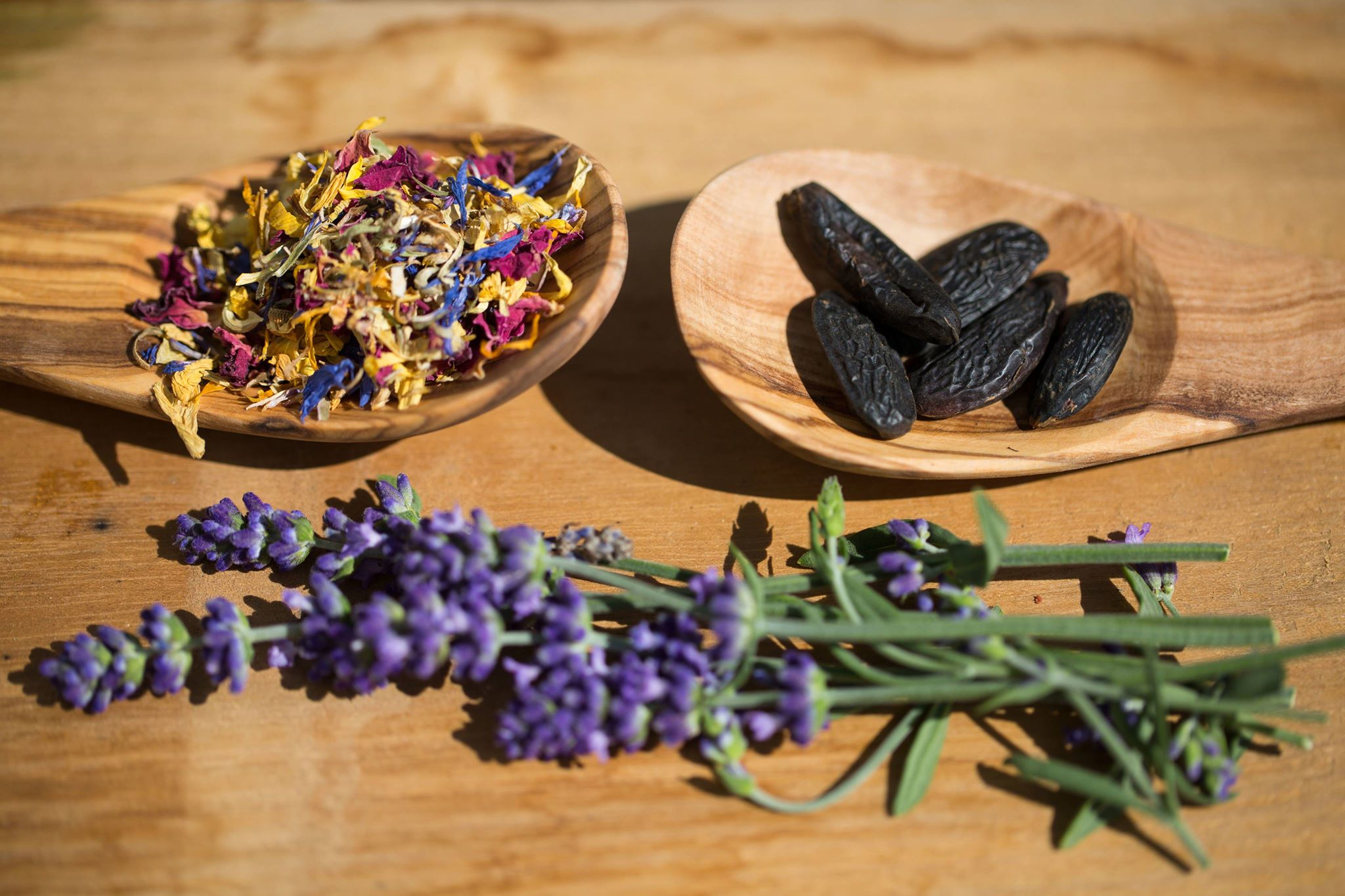 Tonka beans and lavender