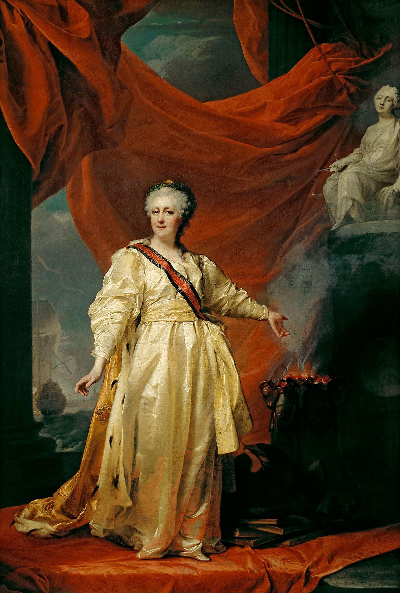 Екатерина 2 и ее дикие забавы