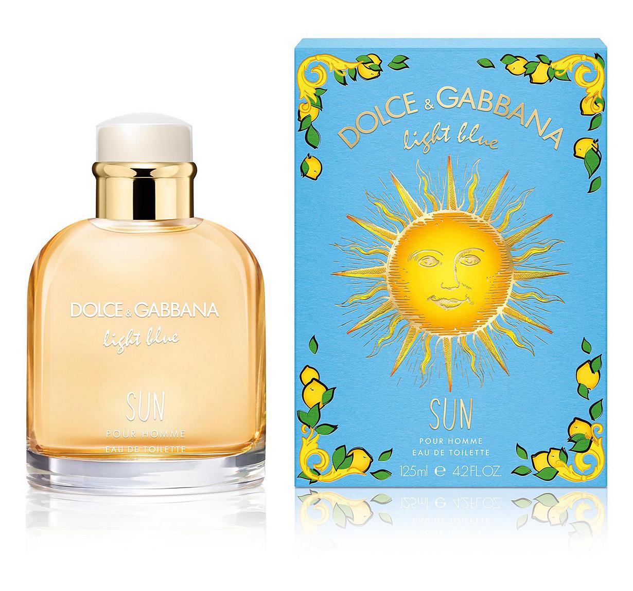 Dolce Gabbana Light Blue Sun New Fragrances