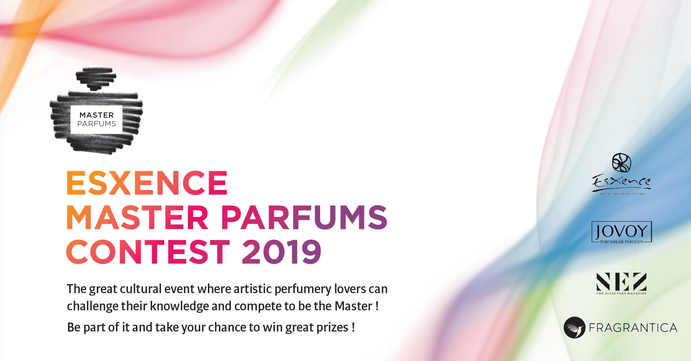 ESXENCE: Master Parfums Contest 2019 ~ Art Books Events