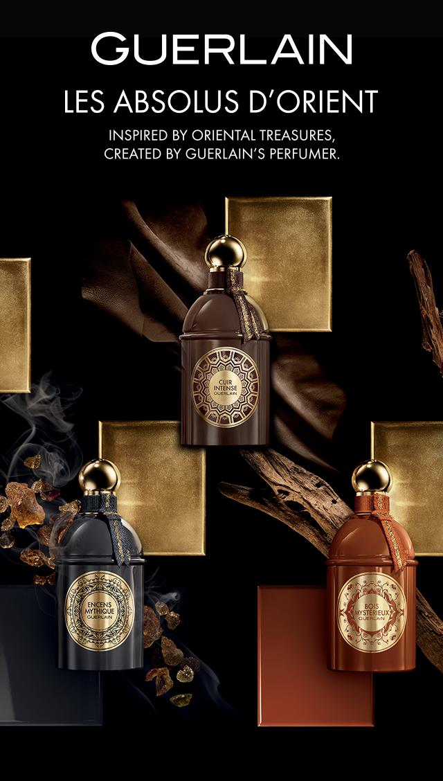 e432c5512b99 Guerlain Cuir Intense: Les Absolus d'Orient Goes Butch & Interesting ...