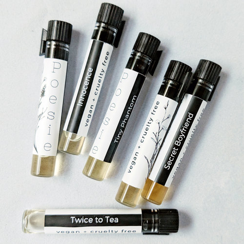 Let's Get Acquainted: Poesie Perfume Oils ~ Fragrance Reviews