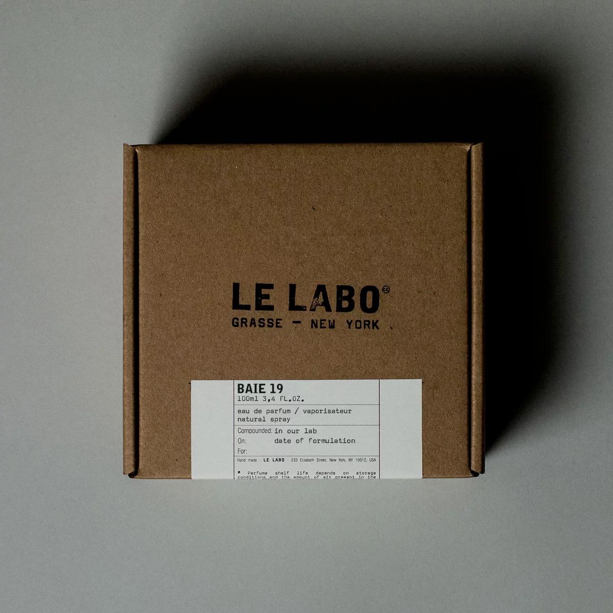 ein neuer duft von le labo: baie 19 ~ nischendesigner und