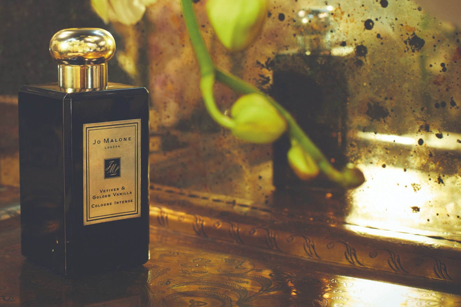 Vetiver & Golden Vanilla Cologne Intense di JO MALONE