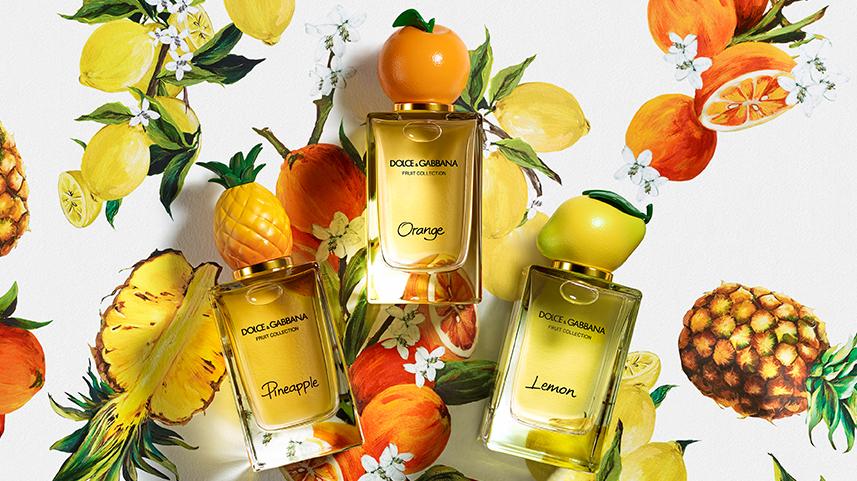 Dolce & Gabbana Fruit Collection: Lemon, Orange, Pineapple العطور ...
