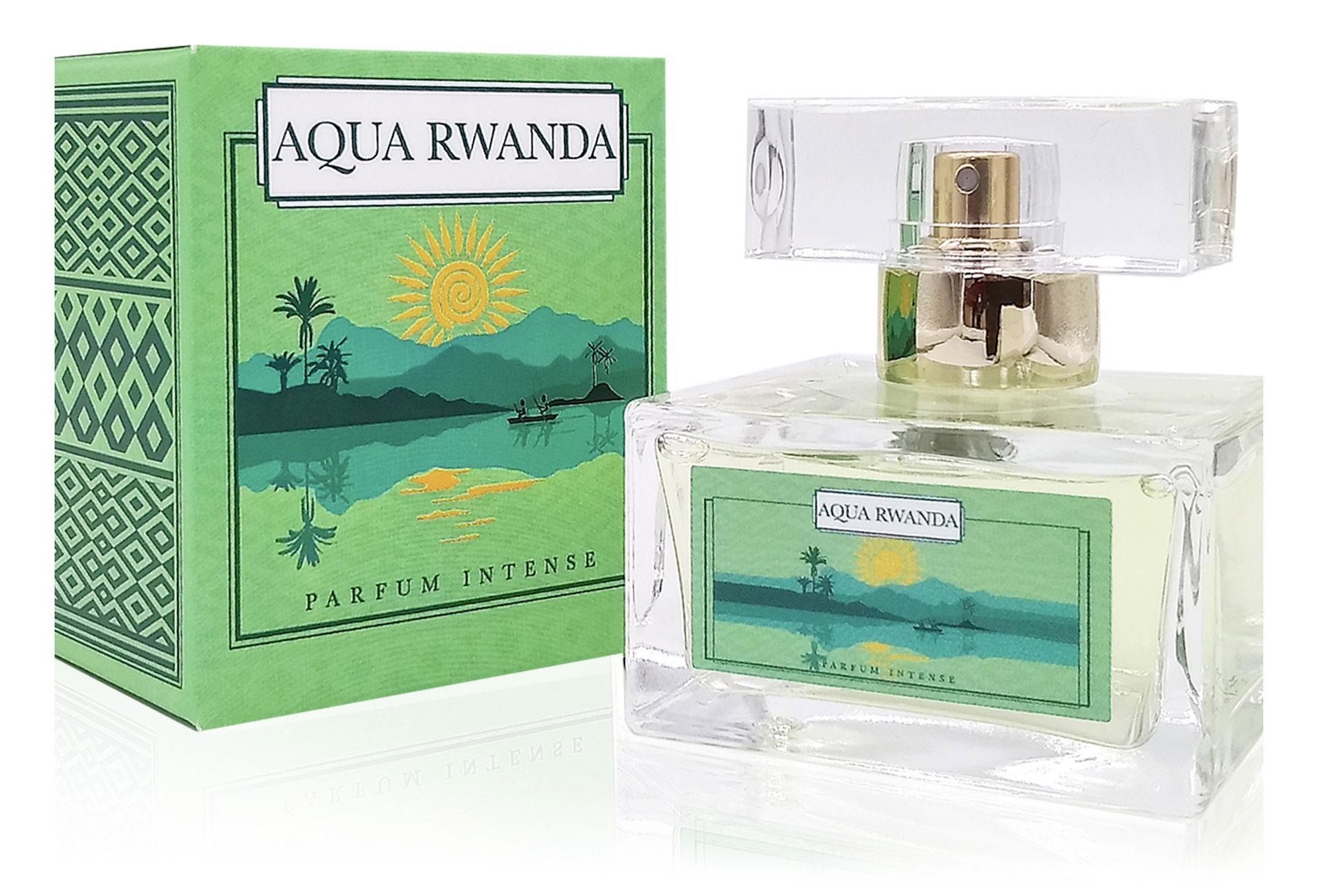 Aqua Rwanda Parfum Intense flacon and box