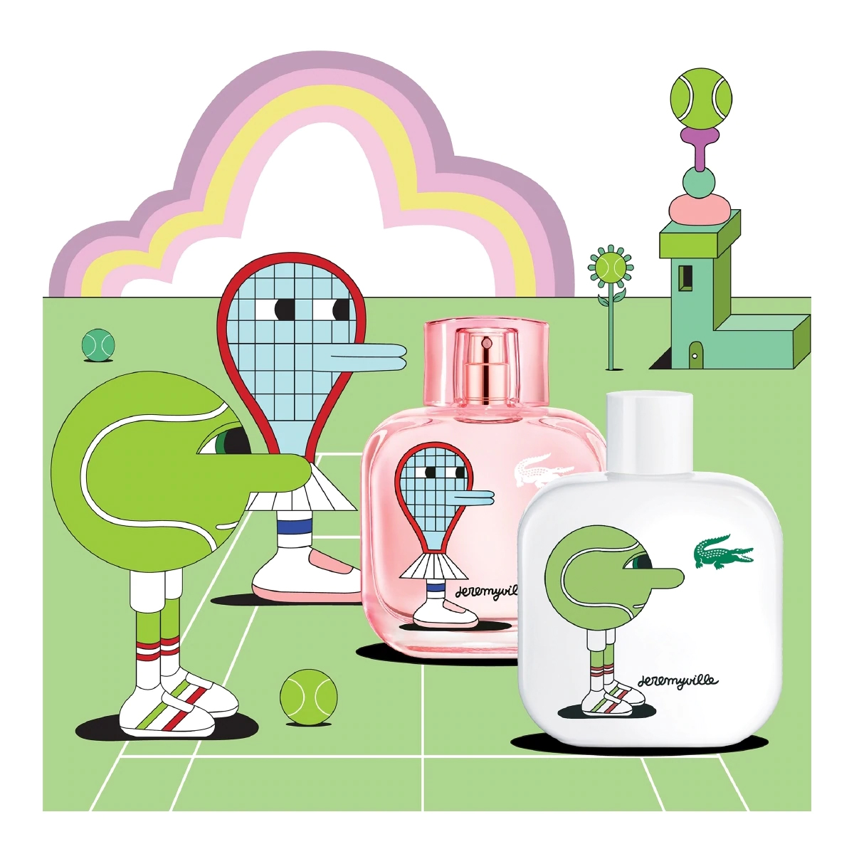 Lacoste Eau De Lacoste L12 12 Collector S By Jeremyville Fragrance News
