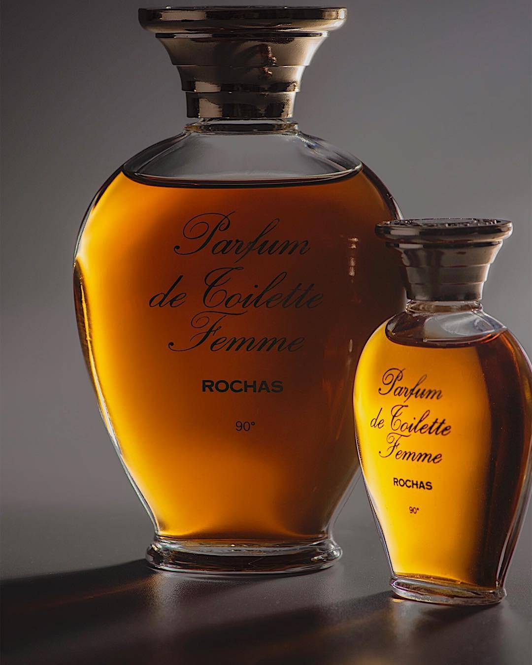 Rochas Femme parfum de toilette bottles