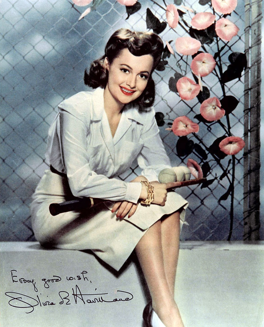 Olivia De Havilland The Lady Is Gone Columns