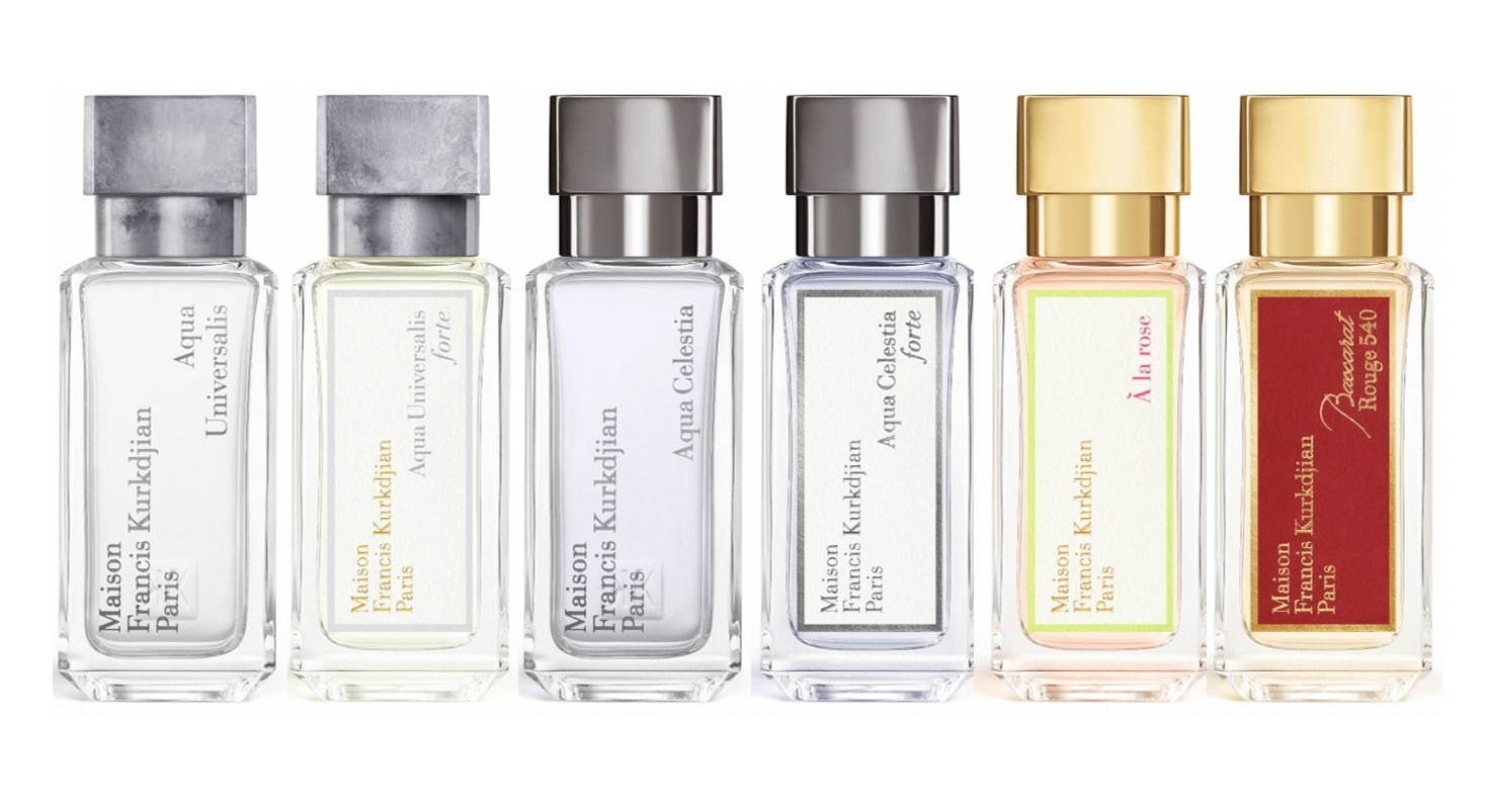 Maison Francis Kurkdjian's New Smaller Bottles for 20 Fragrances ...