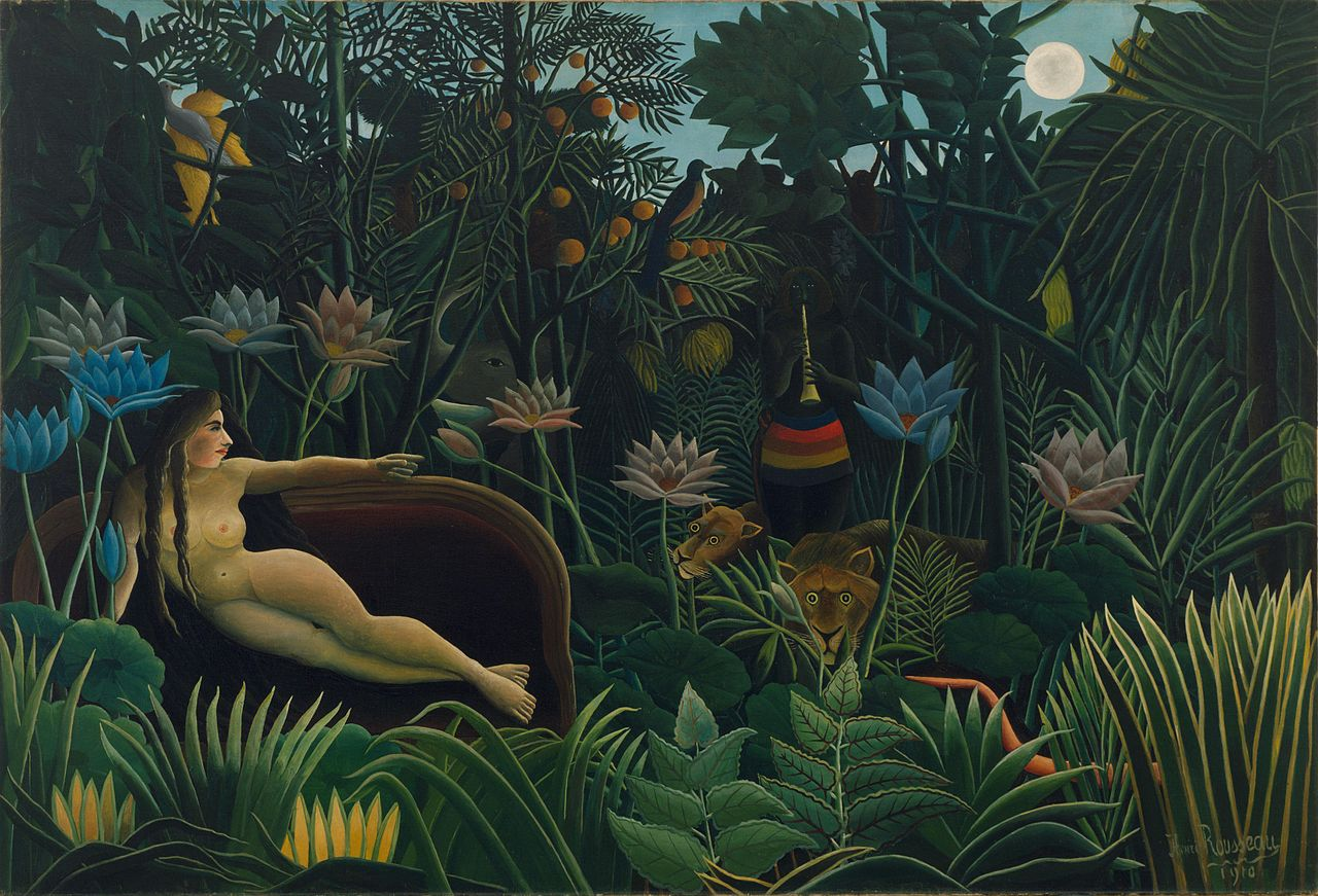 Henri Rousseau The Dream La Reve