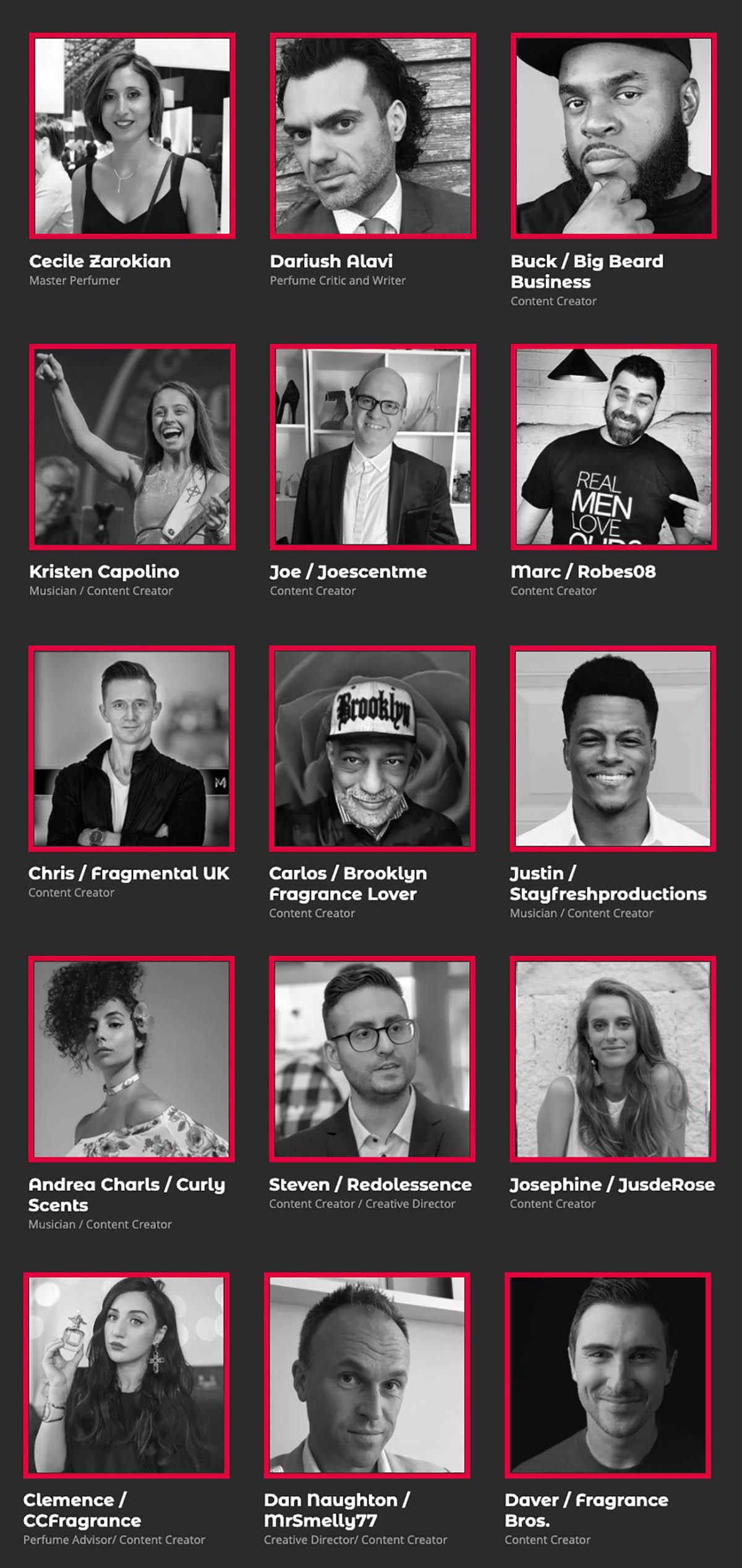 Participants at ScentXplore 2020.