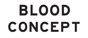 Blood Concept Logo