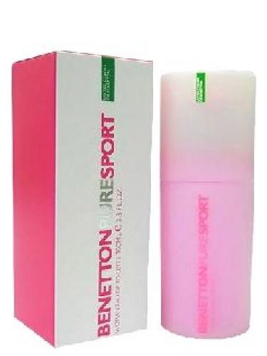 benetton pink perfume