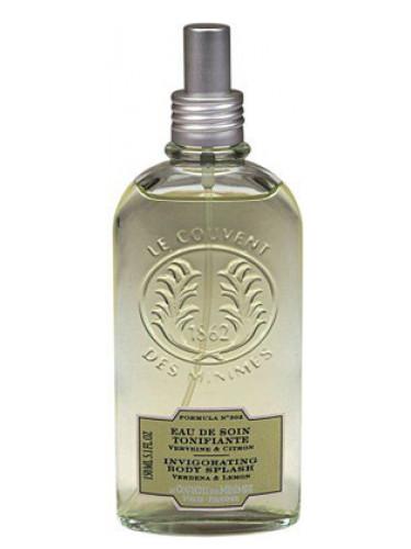 Verbena lemon invigorating body splash le couvent des for Le couvent des minimes parfum