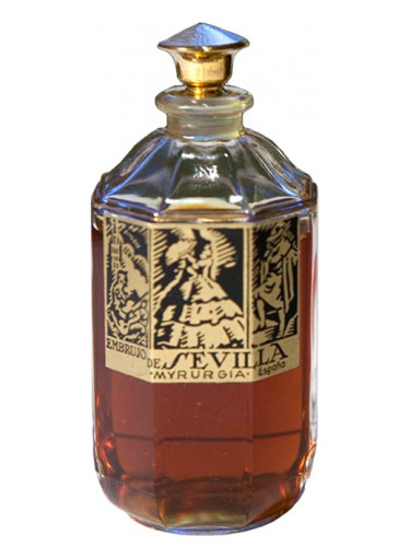 Rose Vanilla Perfume: Embrujo De Sevilla Myrurgia Perfume
