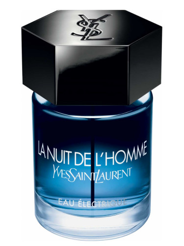 la nuit de l 39 homme eau lectrique yves saint laurent cologne a new fragrance for men 2017. Black Bedroom Furniture Sets. Home Design Ideas