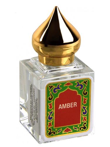 Amber oil perfume