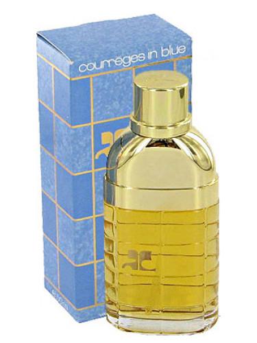 courreges in blue courreges parfum un parfum pour femme 1983. Black Bedroom Furniture Sets. Home Design Ideas