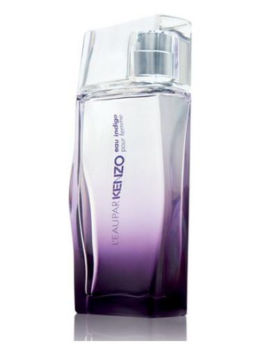 l 39 eau par kenzo eau indigo pour femme kenzo parfum een geur voor dames 2009. Black Bedroom Furniture Sets. Home Design Ideas