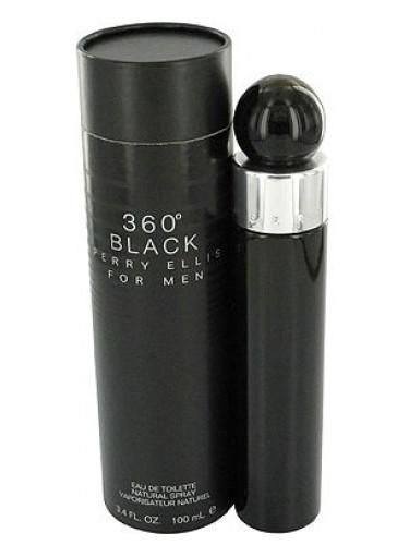 360° Black For Men Perry Ellis Cologne