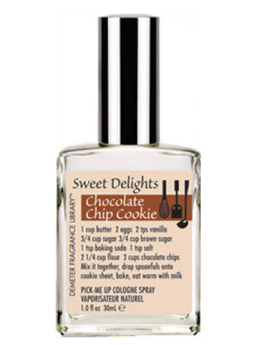 Best Chocolate Scented Flowers: Chocolate Chip Cookie Demeter Fragrance Perfume