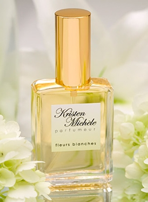 Fleurs Blanches Kristen Michele para Mujeres