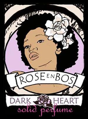 Dark Heart Rose en Bos pour femme
